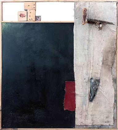 Progetto che l'artista Napoletano realizza per la sua tesi di laurea in Pittura, all'Accademia di Belle Arti di Napoli. Tecnica mista e materiali di riciclo.