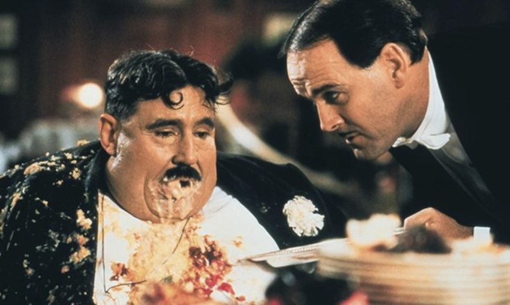 Michael Palin and Terry Jones recall the hilarity on the set of their 1983 classic – and reveal what Mr Creosote's vomit was made of