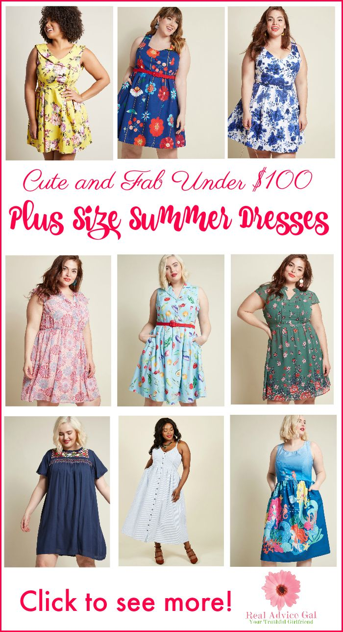 edb72b35916 Look cute and fab this summer with these awesome plus size dresses for  summer under  100