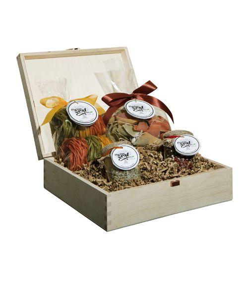 Gourmet Pasta Gift Basket - entire gift box