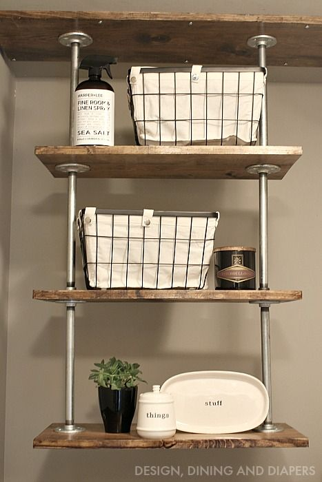 Best 25+ Laundry room shelves ideas on Pinterest | Laundry shelves, Laundry  room shelving and Shelving in laundry room