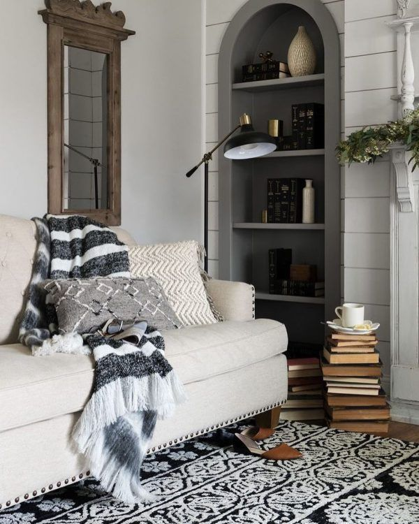 36 Charming Living Room Ideas: 100 Charming Farmhouse Living Room Ideas To Try At Home