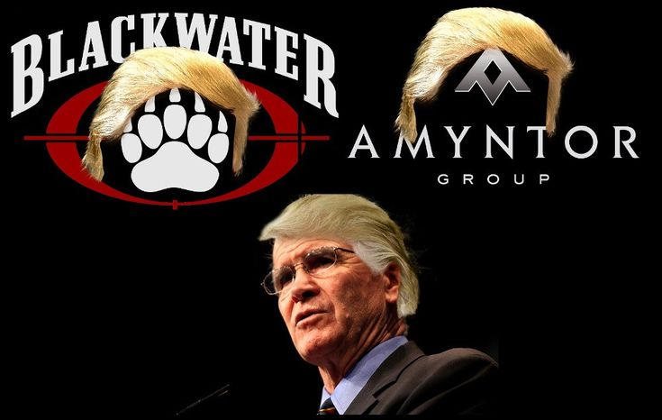 Multiple White House sources have told reporters that the Trump administration has been negotiating with Erik Prince (founder of the war-crimes plagued mercenary firm Blackwater; brother to pyramid…
