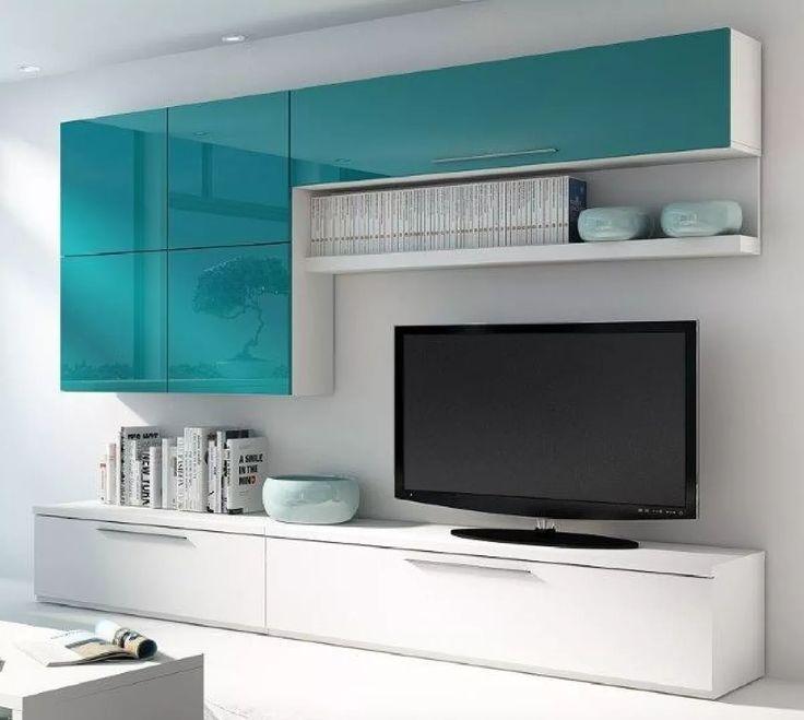 mesa tv lcd led modular mueble rack tv unicos megacell