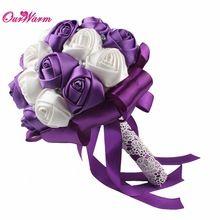 Flor Rosa Artificial Flores De Seda para Decoração de Casamento Flores Falsas Feitas À Mão Buquê de Casamento Flores Decorativas(China (Mainland))
