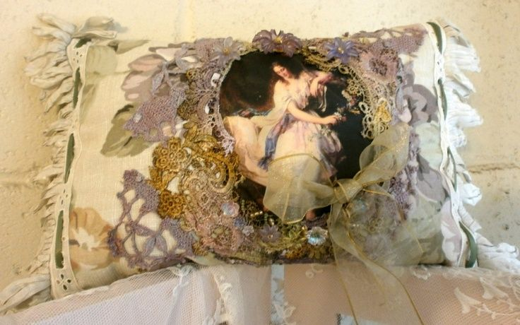 Junk Gypsy Decorating Style | Signature pillow, the dance. | DECORATING, JUNK GYPSY STYLE