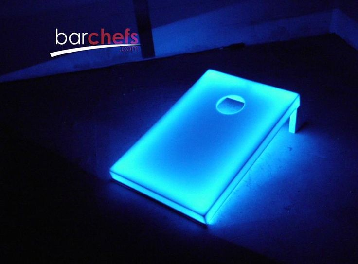 GLOW IN THE DARK CORN HOLE!!!