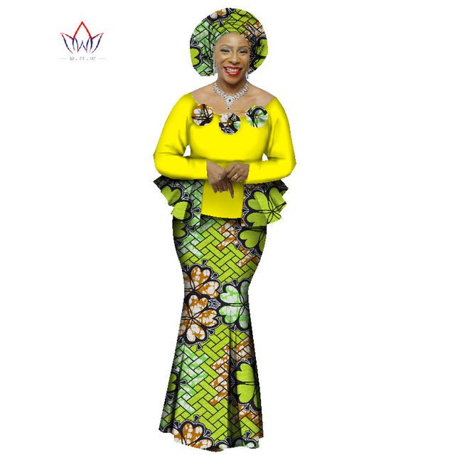 ef0b3a9b14b7e 2018 Automne Jupe Africaine Ensemble Pour Femmes Dashiki 2 Pièce Définit Africain  Vêtements Élégant Vêtements Traditionnels Africains WY1066 de la boutique  ...