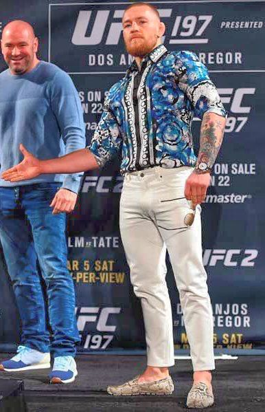 Conor McGregor UFC 197