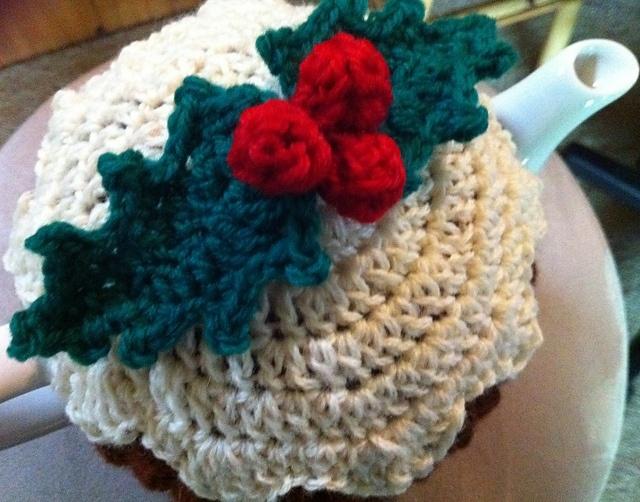 Crochet christmas pudding tea cozy patterns