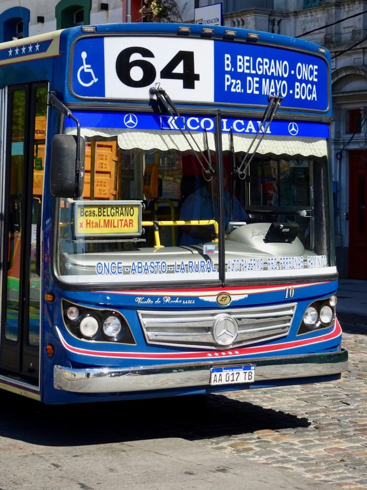 Bus in Buenos Aires