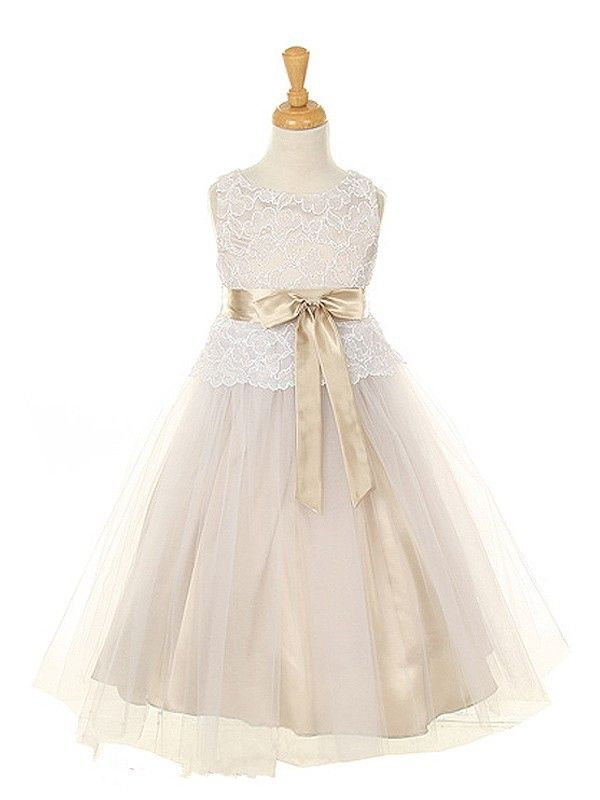 (49.70$)  Watch more here  - 2017 multi color purple/gold/champagne/white/coral flower girl dresses children pageant party lace flower girl dress