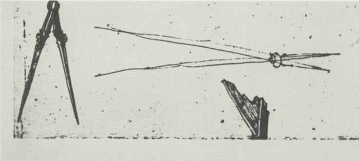 Preparatory sketch of the compass in Melencolia I by Albrecht Dürer - Melencolia I - Wikipedia