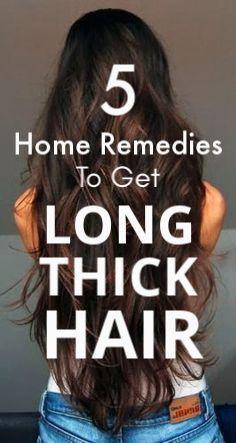 5 Hair Care Home Remedies For Thicker Hair, Long Hair, Healthy Hair And Beautiful Hair