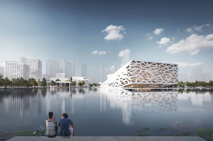 Henning Larsen Architects have unveiled plans for a new Chinese Opera house in Yuhang.