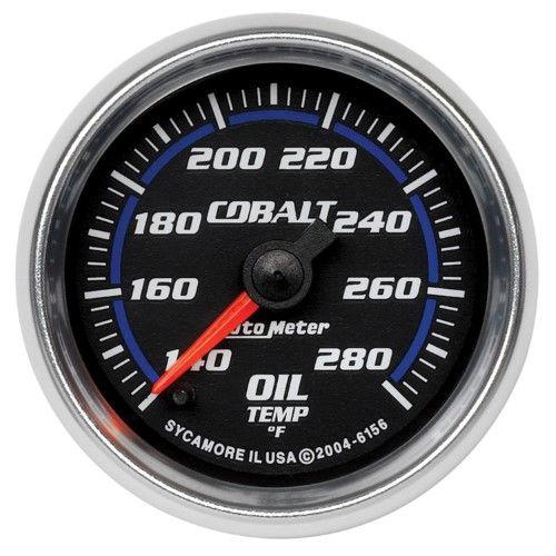 Autometer 6156 Cobalt Electric Oil Temperature Gauge  2