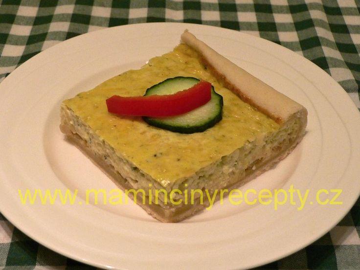 Cibulovo-sýrový koláč