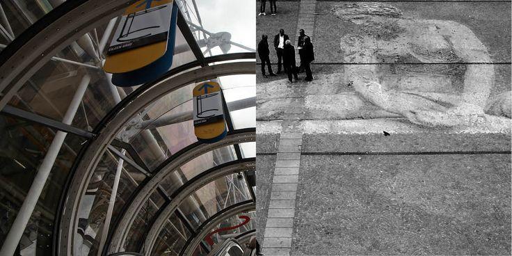 Centre Pompidou, Paris May 2013 by Karin Henriques