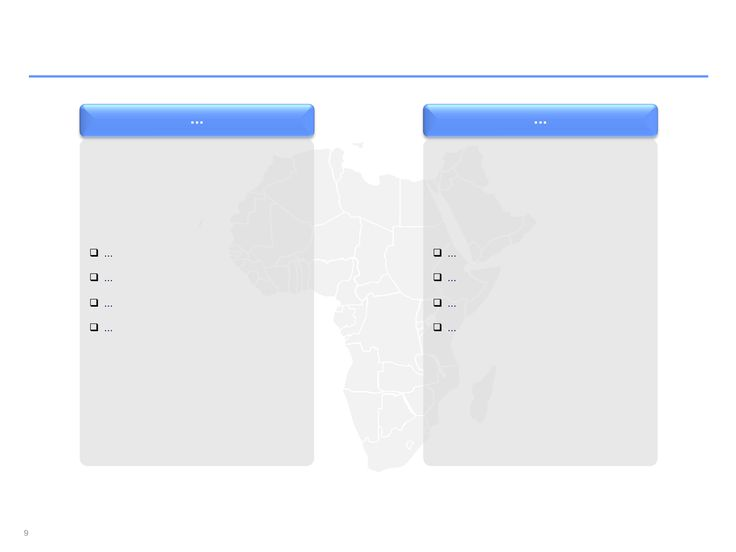 Descarga ahora Mapas de África editables en PowerPoint