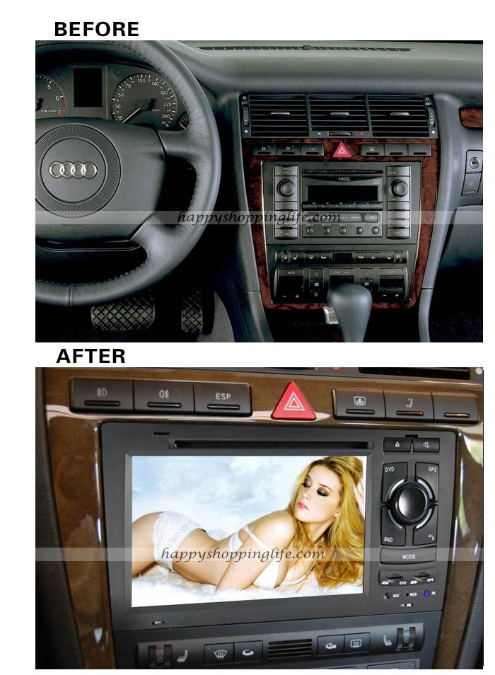 install audi a8 s8 dvd navigation system with bluetooth touchscreen http www. Black Bedroom Furniture Sets. Home Design Ideas