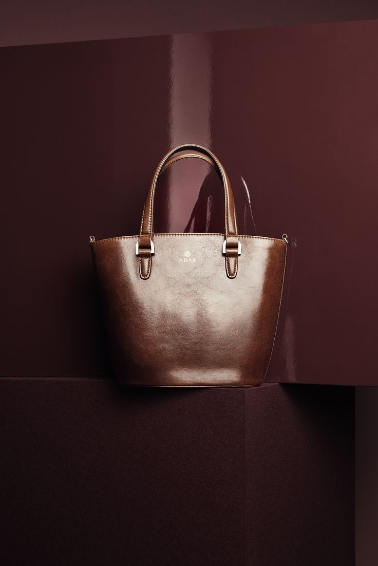 The Ea bag i brown Salerno leather! Click on pic for more.