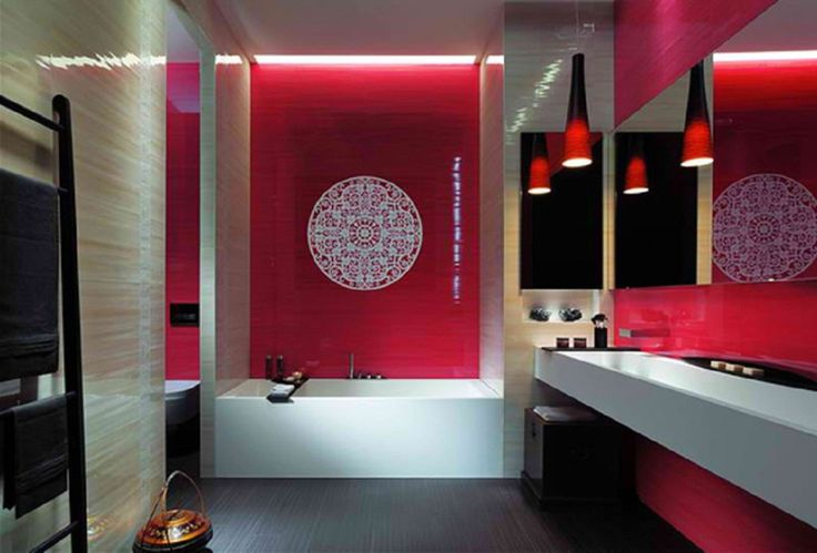 Amazing Bathroom Tile Ideas ~ http://lovelybuilding.com/simple-and-beautiful-tile-designs-small-bathrooms/