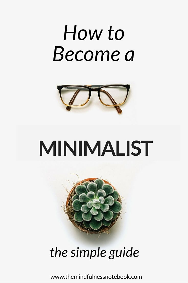 How To Become A Minimalist #minimalism