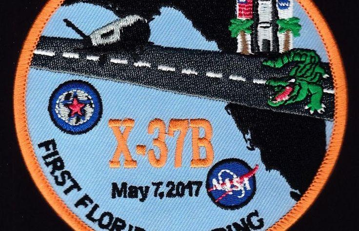 USAF X-37B - OTV-4 - FIRST FLORIDA LANDING - NASA BOEING DOD - SPACE PLANE PATCH