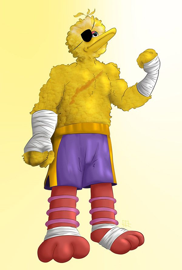 Sesame_Street_Fighter_Big_Bird