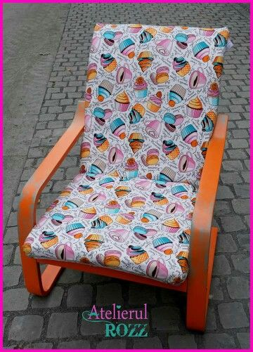 Cupcake armchair for the sweet ones