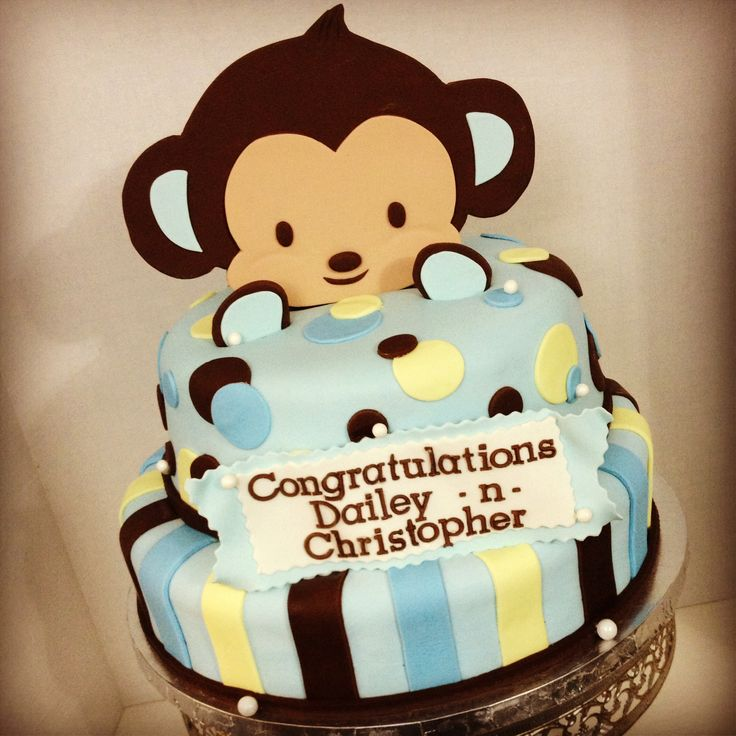 baby shower monkey monkey baby baby shower cakes monkey cakes cake