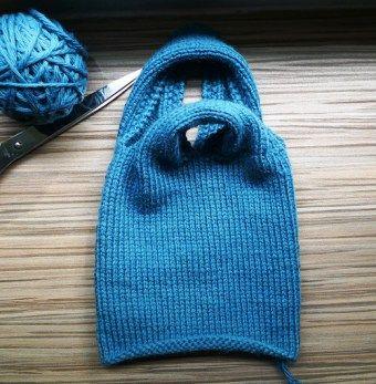 Knot Bag Knitting Pattern : knitted knot bag ! Kult a pr?ve som nett! Knitting Pinterest Knitting, ...