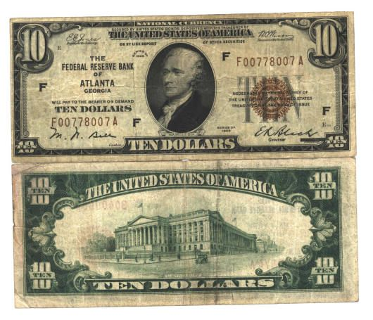 u.s. currency   US Currency Paper money Silver certificates at LYNN COINS and CURRENCY ...