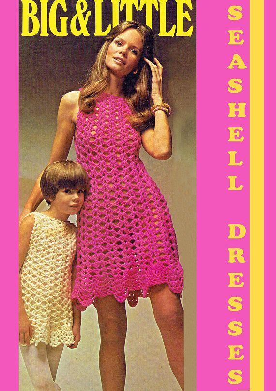 PDF Vintage Womens Ladies Dress Crochet Pattern Bikini Cover