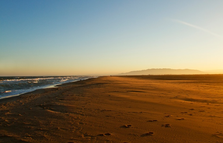 Trabucador beach in Delta de l'Ebre #terresdelebre  #catalonia #spain
