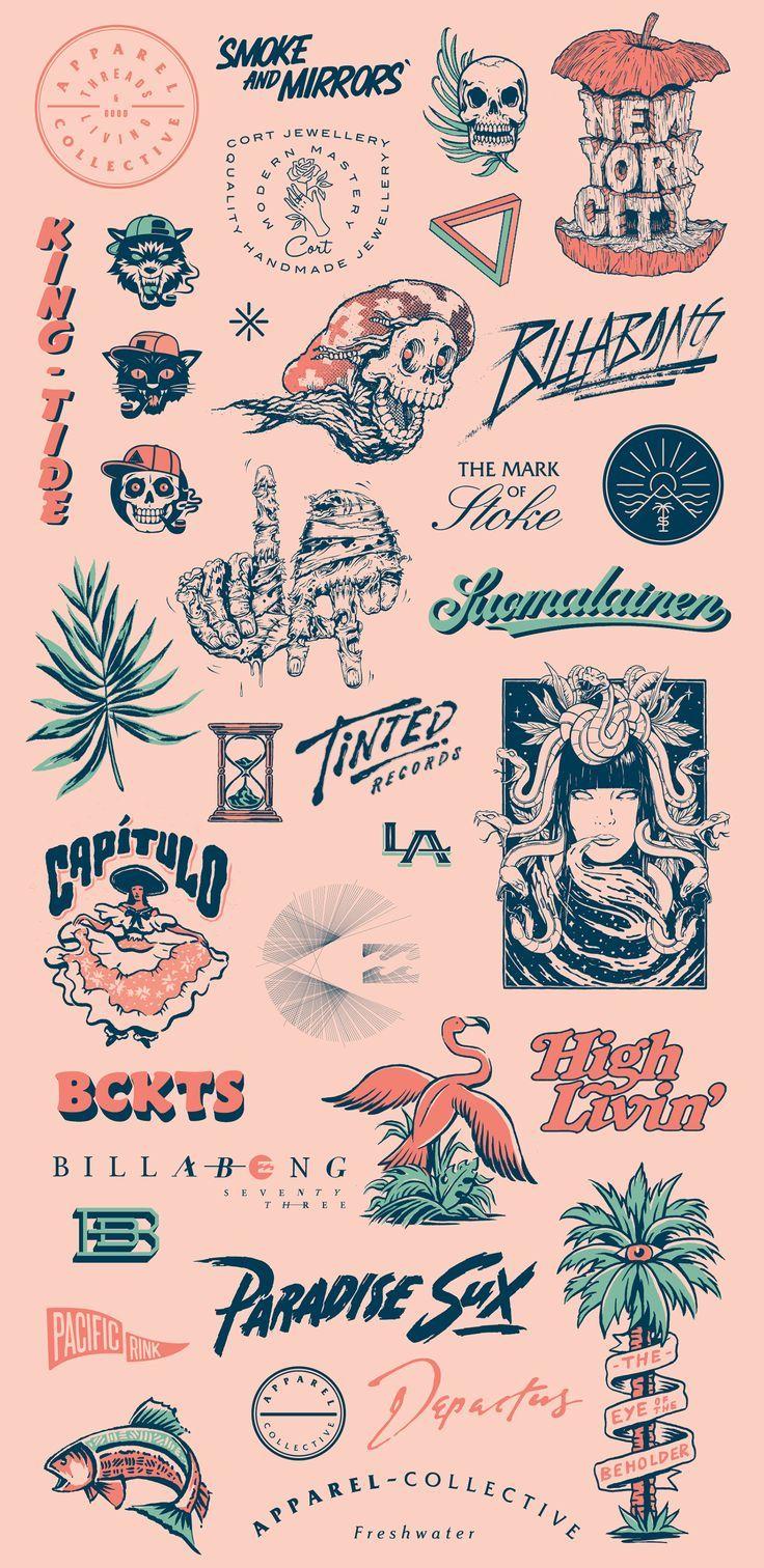 lettering and logo design