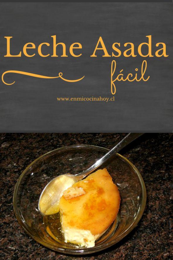 Roasted milk, Chilean recipe | Leche asada, receta chilena | En Mi Cocina Hoy