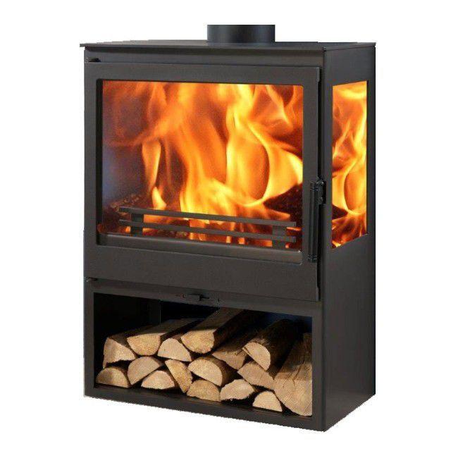 Piec Stalowy Panadero Onix 7 1 Kw 810 X 563 X 396 Mm Piece Wood Burning Stove Wood Stove Stove