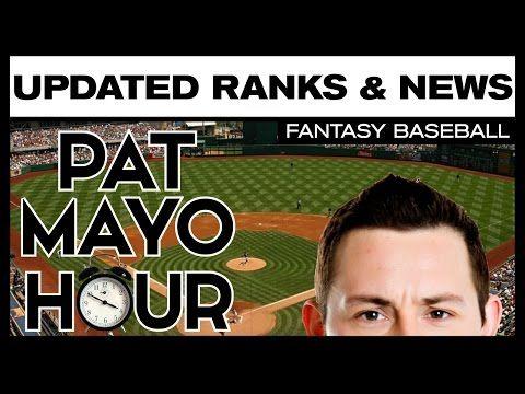 2017 Fantasy Baseball Rankings Updated: Injuries, News & Ranks Changes