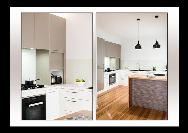 Mixing it up with our huge range of colours and finishes at ALBEDOR.  Here our popular HOLLY door design is used in GLOSS GOLD ILLUSION and SATIN CLASSIC WHITE with the island panel in ZEBRANO.  Clean, fresh and very much on-trend.  Visit our website for more info- www.albedor.com.au
