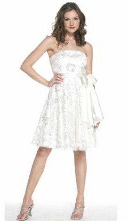 Awesome Cute white dresses for juniors 2018-2019
