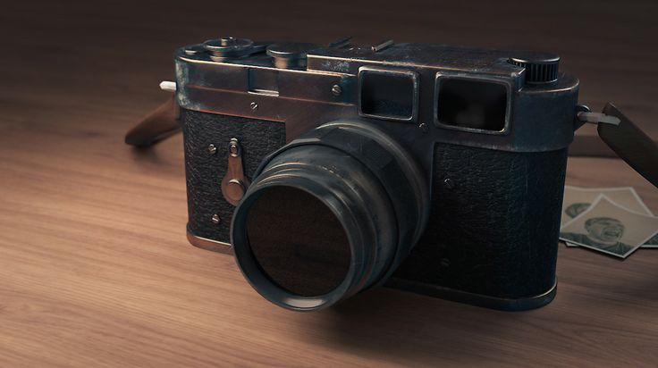Leica M3, Modeled, textured and rendered in  Blender. Post-pro in Photoshop.