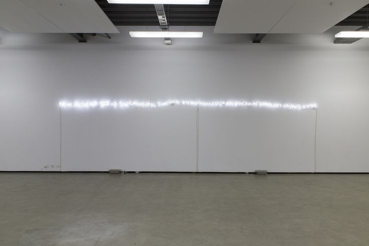 Palimpsest, 2013. Installation view from the exhibition White Silence, 2014. Kate Belton.