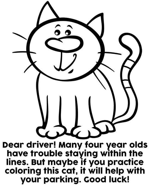 Bad Parking Coloring Page Bad Parking Coloring Pages Bad Parking Pictures