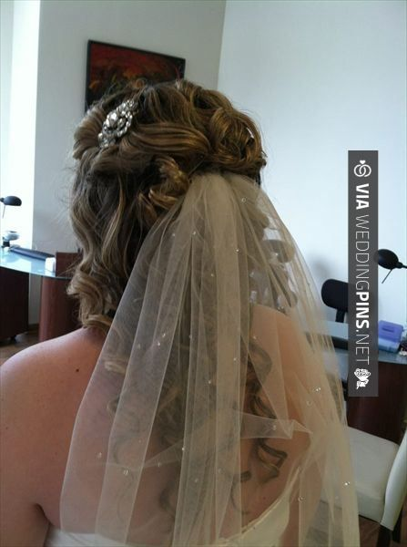 Fantastic! - Wedding Hair With Veil Half up wedding hair with veil by Fringe and Foundation Studio - Cleveland/Northeast Ohio | CHECK OUT THESE OTHER GREAT PHOTOS OF TASTY Wedding Hair With Veil AT WEDDINGPINS.NET | #weddinghairwithveil #weddingveil #weddinghairstyles #weddinghair #hair #stylesforlonghair #hairstyles #hair #boda #weddings #weddinginvitations #vows #tradition #nontraditional #events #forweddings #iloveweddings #romance #beauty #planners #fashion #weddingphotos