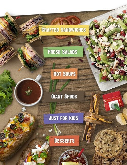 Find your favorites or something new on McAlister's Menu.