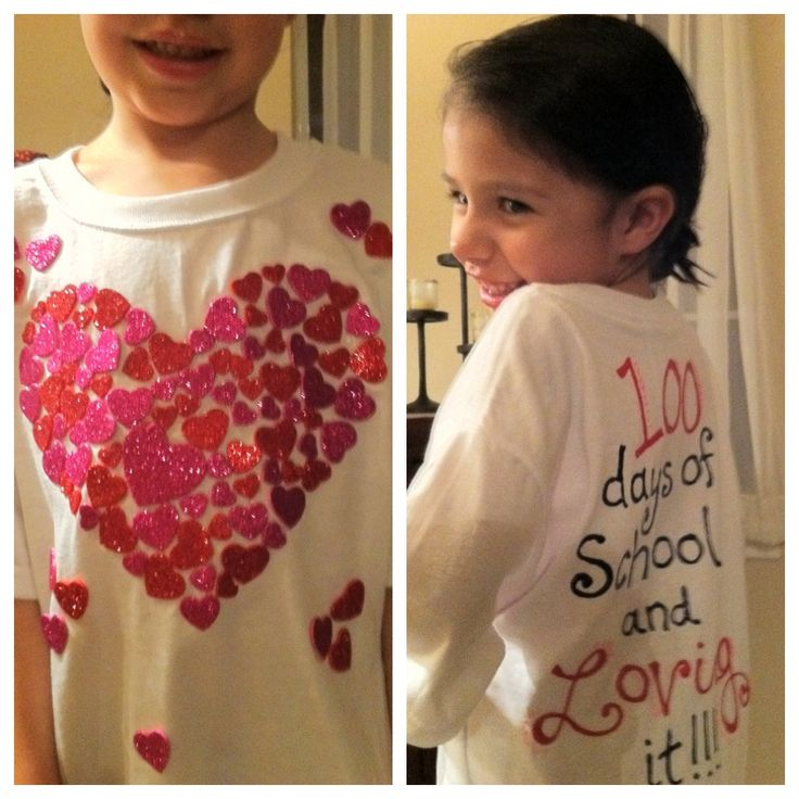 100 days of school shirt ideas | 100th Day of School | Elizabeth Lauren gotta do for chanel's class project :)