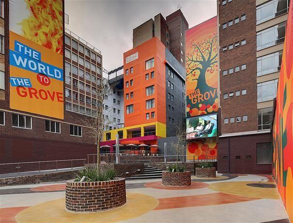 Braamfontein - bold, bright and beautiful, right in the heart of Johannesburg, Gauteng. http://www.gauteng.net/attractions/entry/hotel_lamunu