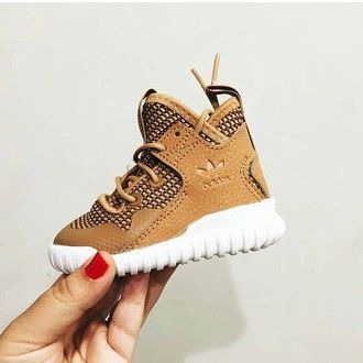 shoes kids fashion adidas shoes high top sneakers kids shoes adidas wheatadidas infant @deuxpardeuxKIDS