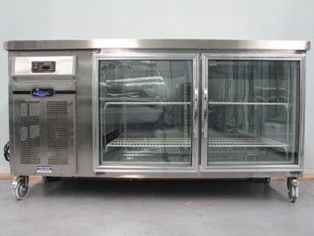 Used Catering Equipment, Second hand Catering equipment, '2Cool' 2 Door Underbar Display Refrigerator - 1800mm